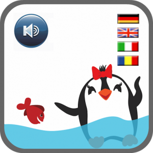 "App Icon ""Pinguin an Bord"""